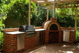 Image Of Small Backyard Pizza Oven The Shiley Family Wood Fired ...